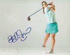 BELEN MOZO signed *LPGA* WOMEN'S GOLF 8X10 photo W/COA SPAIN USC TROJANS #1