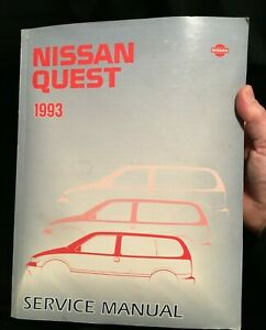 Service Repair Manuals For Nissan Quest For Sale Ebay