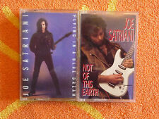 Lot of 2 JOE SATRIANI Cassette Tapes Flying In A Blue Dream & Not Of This Earth