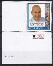 Personalisierte Marke Postfrisch MNH ** Eckrand mit Bogennummer 8124008