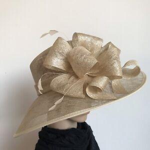 Ladies Elegant Organza Formal Race Wedding Melbourne Cup Fascinated Hat H114