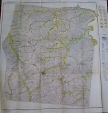 Color Soil Survey Map Dickson County Tennessee White Bluffs Vanleer Burns 1928