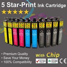 10 Ink Cartridges for Epson 220XL WF-2660 WF-2750 XP-2760 XP-220 XP-320 XP-324