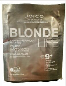 JOICO BLONDE LIFE 9+ Lightening Powder Lifts Up To 9 Levels  ~ 1.5 oz / 42.5 g!!