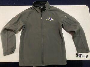 New Baltimore Ravens Kids Youth Medium Full Zip Jacket Embroidered Logo