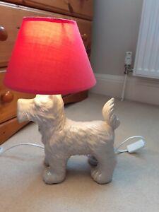Next Westie Terrier Lamp