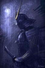 "067 Japanese Samurai - Combat Warrior from Japan Art Print 14""x21"" Poster"