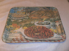 VINTAGE OLD 1983 D.H. HOLMES ZATARAIN'S DIXIE BEER SERVING TRAY NEW ORLEANS LA.