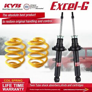 Front KYB EXCEL-G Shock Absorbers Lowered King Springs for LEXUS IS200 GXE10 I4