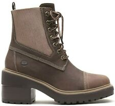 Womens Ladies Timberland Brown Leather Boots shoes Size UK 5.5  EU 38.5 Non Box