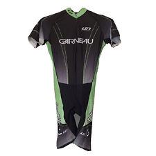 Louis Garneau Cycling Racing Skin Suit One Piece Kit Elite Power Mesh Black Gray