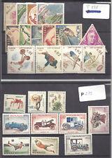 MONACO -- Lot de 35 timbres neufs avec trace de charnière