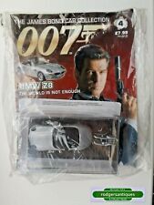 JAMES BOND 007 CAR COLLECTION - BMW Z8 - The World Is Not Enough #4 Sealed+Mag