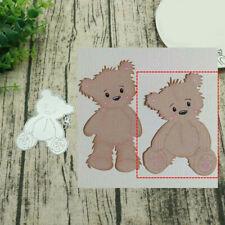 Seated Bear Metal Cutting Dies Scrapbooking Paper Cards Album Photo Stencil DIY