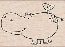 FRIENDS - HERO ARTS - Wood Mounted Rubber Stamp ***LAST ONE***