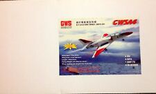 $5.00 FLAT RATE SHIPPING GWS A-4 WITH EDF 75 UNIT AND BL2815-A MOTOR
