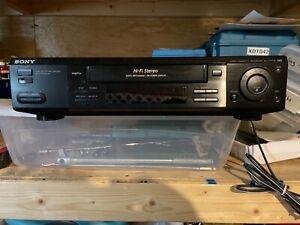 Sony SLV-777HF VCR 4 Head HiFi VHS Video Cassette Recorder Player