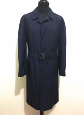 CULT VINTAGE '70 Trench Impermeabile Uomo Cotton Man Rain Coat Sz.XXL - 54