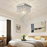 Crystal Modern Chandelier Ceiling Light Fixture Aisle Hallway Pendant Lamp