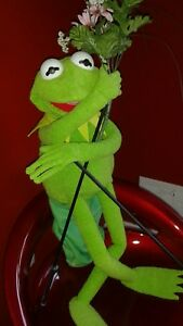 KERMIT LARGE FULL BODY HAND PUPPET ARM RODS/SLEEVE FOR PROFESSIONAL OR HOME USE.