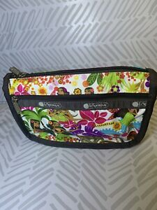 LeSportSac Travel Cosmetic Bag Pouch Sweet Wahine Hawaii Exclusive 7315 K168 NWT