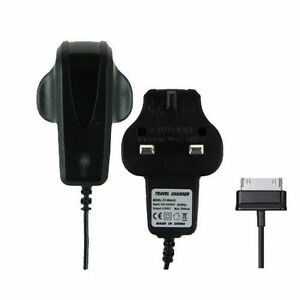 """Official UK Mains Charger for Samsung Galaxy Tablet 10.1"""" 8.9"""" 8"""" 7"""" Tab 2 Black"""