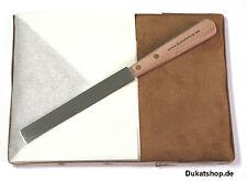 Vergolderkissen EXTRA mit Windschutz + Messer f.Blattgold Schlagmetall