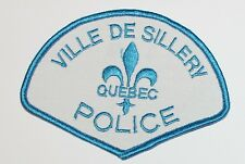 VILLE DE SILLERY POLICE Quebec Canada Canadian PD patch