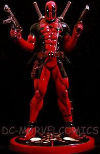 BOWEN DESIGNS Marvel  DEADPOOL STATUE NEW!! X-MEN Figurine Sideshow FIGURINE