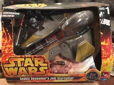 """AMT / ERTL  STAR WARS ANAKIN SKYWALKER'S JEDI STARFIGHTER  DIECAST  """"NIB"""""""