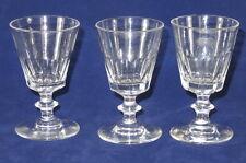 3 VERRES CRISTAL BACCARAT SAINT LOUIS CATON ANTIQUE BACCARAT CRYSTAL GLASSES