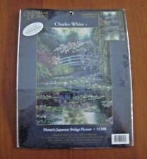 Candamar Designs Monet's Japanese Bridge Picture Cross Stitch Kit  #51308 New