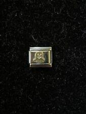 Original NOMINATION Clásico Yin Yang Esmalte /& Encanto de Acero 330202//14//18 £ PVP