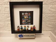 Friends 3D minifigure Frame tv show Rachel, Ross, Monica, Phoebe, Chandler, Joey