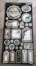 Graphic 45 - Safari Adventure Collection - Chipboard 1 Decorative Embellishments