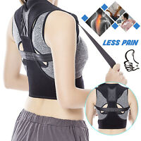 Posture Corrector Back Shoulder Support Brace Belt Therapy Pain Relief Men Women