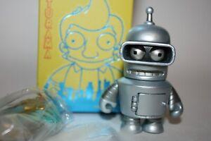 KIDROBOT FUTURAMA UNIVERSE X BENDER REISSUE ROBOT DESIGNER TOY ART