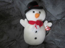 'Snowball' Christmas Beanie Buddie by TY - 2001 Retired