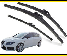 "Seat Leon wiper blades 2009 2010 2011 2012  German front and rear 26""26""PT 11""V"