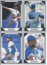 1991 Leaf Toronto Blue Jays Team Set