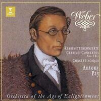 ANTONY PAY-WEBER:CLARINET CONCERTOS NOS.1 & 2. CONCERTINO OP.26-JAPAN CD C68