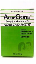 Acne Gone Soap for Skin Care & Acne Treatment 3.5 oz