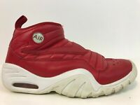 Nike Air Shake Ndestrukt Dennis Rodman Size 10 880869-600 Red/White Ships Fast