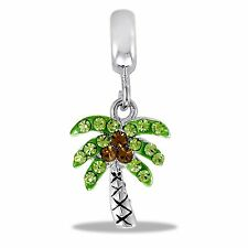Davinci Beads Charm - CZ Palm Tree - Buy 2 or More DaVinci and Save!