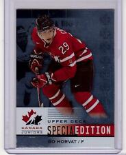 BO HORVAT 14/15 Upper Deck Team Canada Juniors Special Edition #SE-6 Rookie