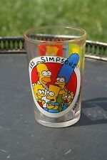 Ancien verre à moutarde Les Simpsons 1997 Les Grimaces de Bart Matt Groening