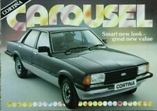 Ford Cortina Mk5  Carousel  Limited Edition Sales brochure #