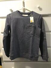 Mini Boden Boys **NEW** 11/12 Sweatshirt Gray