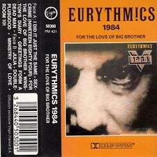 K 7 AUDIO (TAPE)  EURYTHMICS  *1984 FOR THE LOVE OF BIG BROTHER*