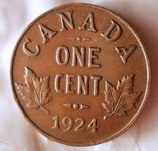 1924 CANADA CENT - KEY DATE - WORLDWIDE - HVCanada2
